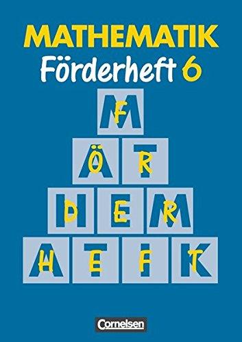 Mathematik Förderschule - Förderhefte / Band 6 - Heft, 7. Dr.