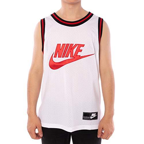Preisvergleich Nike Weißes Mesh Tank Top Top Angebote