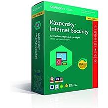 Kaspersky Internet Security 2018 Mise à jour | 3 Postes | 1 An |  PC/Mac/Android/iOS | Téléchargement