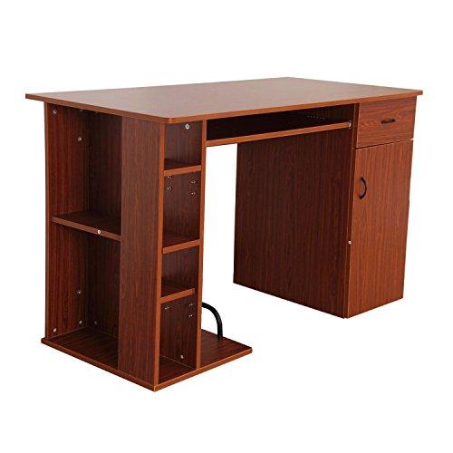 Mesa de Ordenador PC 120x60x74 cm Oficina Despacho Escritorio Mobiliario Madera