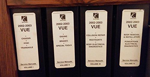 2002-2003-saturn-vue-service-shop-manual-set-4-vol-4-volume-set