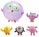 ANIMAL BALLOON BALL Inflatable Assorted Farm Blowup Squeeze Bouncing Balls Gift by Lizzy® (Pack of 4)