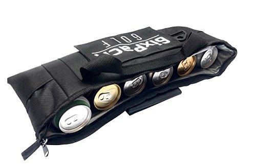 """Golf-zubehör-geschenke (""""6ixPack Golf"""", Kühltasche """"Golf"""" mit Kühlakku für den Gefrierschrank und abnehmbarem Schultergurt Passend für die meisten Golftaschen. Ideales Geschenk für jeden Golfspieler.)"""