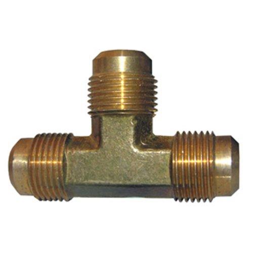 LASCO 17-4449 1/2-Inch Brass Flare Tee by LASCO -