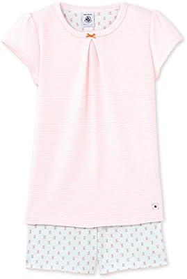 Petit Bateau 22583, Conjuntos de Pijama para Niñas