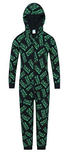 Thepyjamafactory - pigiama interi - ragazzo, green, 7-8 anni