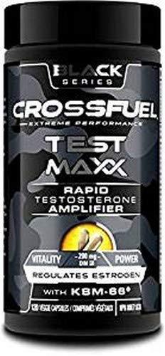 SPORTS NUTRITION SOURCE Crossfuel Black Test Maxx Rapid Testosteron Booster für effektives Training & zur körperlichen Erholung 60 portionen, vegetarische Kapseln, 1er Pack (1 x 120 g)