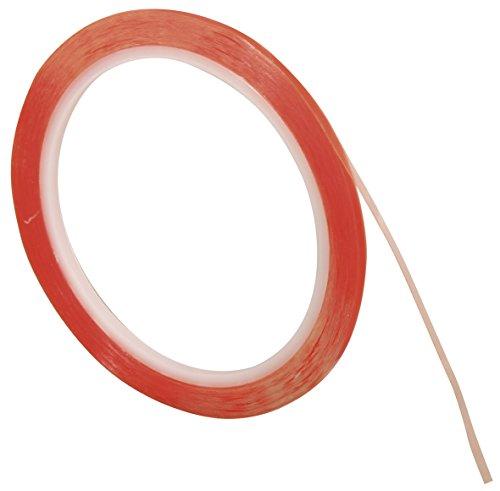 Rayher 30071000 Doppelklebeband, extra stark, 6 mm, 10 m auf Rolle, transparent, säurefrei, hitzebeständig bis 80°C, Klebeband, Klebetape -