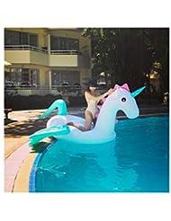 Kehuitong Anillo de natación, diseño de flotador de agua Unicornio, producción de material de