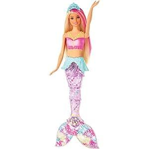 Barbie Gfl82 Dreamtopia Glitzerlicht Meerjungfrau Mit Blonden