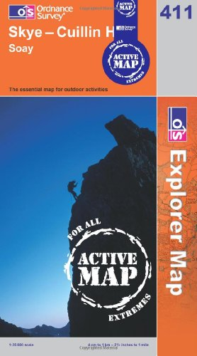 Skye - Cuillin Hills (OS Explorer Map Active)