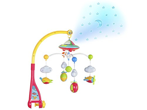 Musikmobile mit Musik Licht Sterne Mond #4478