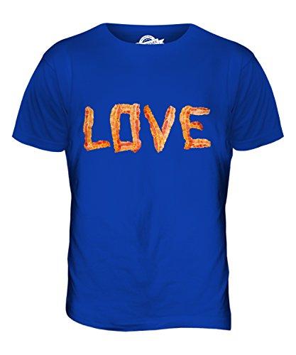 CandyMix Liebe Für Speck Herren T Shirt Königsblau