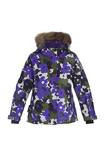 TICKET TO HEAVEN Jacke Madison mit abnehmbarer Kapuze Kinder Jungen Mädchen Crown purple flower