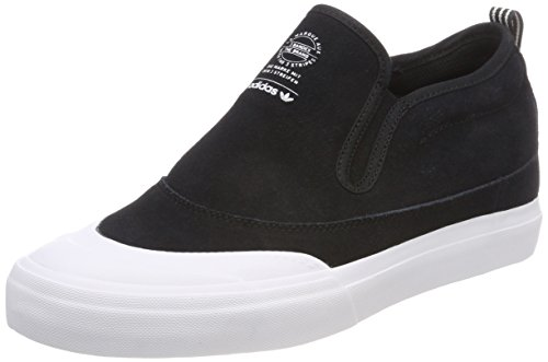 purchase cheap d5507 2924e adidas Mens Matchcourt Slip Mid Skateboarding Shoes, Black (CblackFtwwhtGum4  000