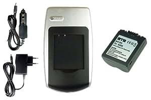 Chargeur + Batterie BP-DC5 pour Leica V-Lux 1