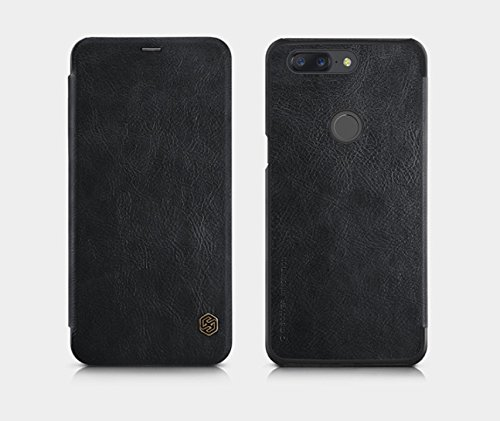 Nillkin Qin Series Royal Leather Flip Case Cover Case for Oneplus 5t