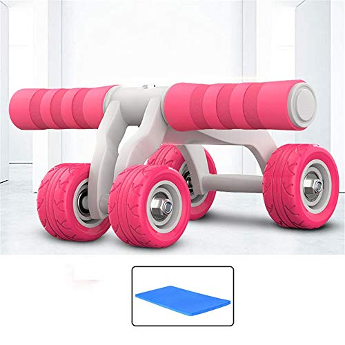 LanglebigRutschfest Ab Roller Wheel Trainingsgeräte - Ab Wheel Trainingsgeräte - Ab Wheel Roller für das Fitnessstudio zu Hause - Ab Machine für das Ab Workout - Ab Workout Geräte - Abs Roller Ab Trai (Abs Workout Machine)