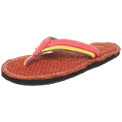 Solerebels Women's Homegrown Vibe Red Flip Flop Hgrwnvibe127 5.5 UK