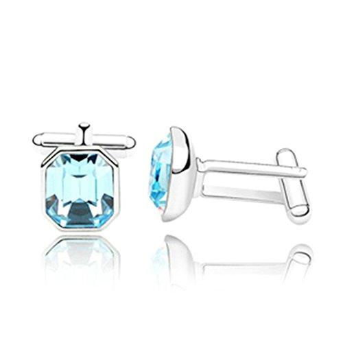 epinki-mens-gold-plated-austria-crystal-octagon-cubic-zirconia-sea-blue-business-wedding-cufflinks