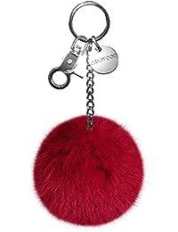 Oakwood – Zita de llaves bolsillos de piel colgante Selección de Colores