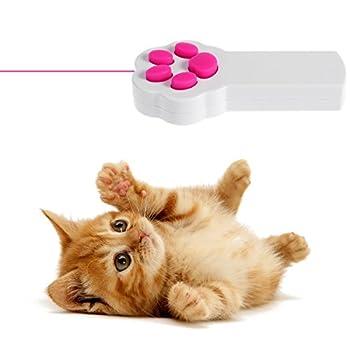 UEETEK Patte Style chat Catch l?Interactive LED lumière pointeur exercice Chaser jouet animal gratter outil de formation