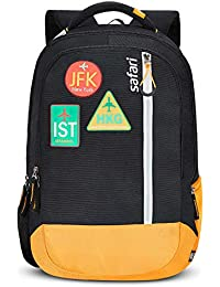 Safari 48 cms Black Casual/School/College Backpack (JETSETTER19CBBLK)
