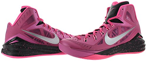 Nike - Hyperdunk 2014, Scarpe Da Basket da uomo Pink/Silver/Black
