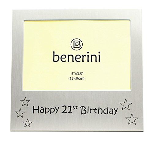 t Birthday ' - Photo Picture Frame Gift - 5 x 3.5 ()