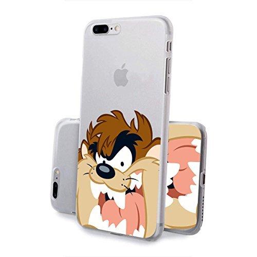 finoo | IPHONE 6 / 6S Lizensierte Hardcase Handy-Hülle | Transparente Hart-Back Cover Schale mit Looney Tunes Motiv | Tasche Case mit Ultra Slim Rundum-schutz | Tweety freut sich Taz lacht