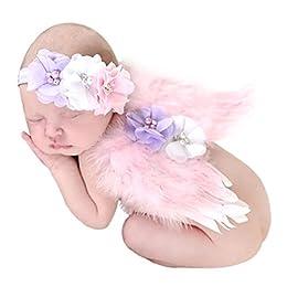 Contenido del paquete: 1X Alas de plumas de ángel 1X Cinta para el cabello