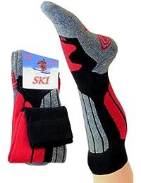 1 Paar Kniestrümpfe Trekkingsocken Skisocken in verschiedenen Farben
