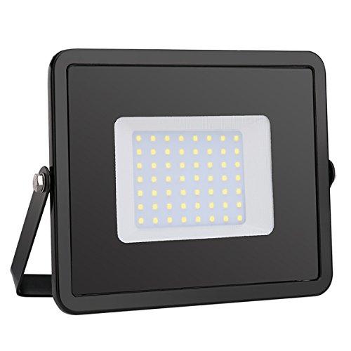 Foco proyector LED 50W Luz Fría, 4000 lúmenes, IP65