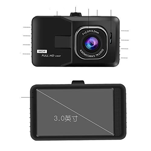 Guangmaoxin Diamant Noir Enregistreur de Conduite 7,6 cm Caméra de Voiture Conduite Enregistreur vidéo avec Grand Angle de Vue de 170 degrés Interface HDMI Big Objectif fisheye