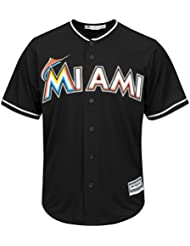 Majestic Miami Marlins Cool Base MLB Jersey Alternate Noir