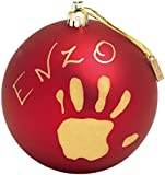Baby Art My Christmas Fairy Bauble (Red)