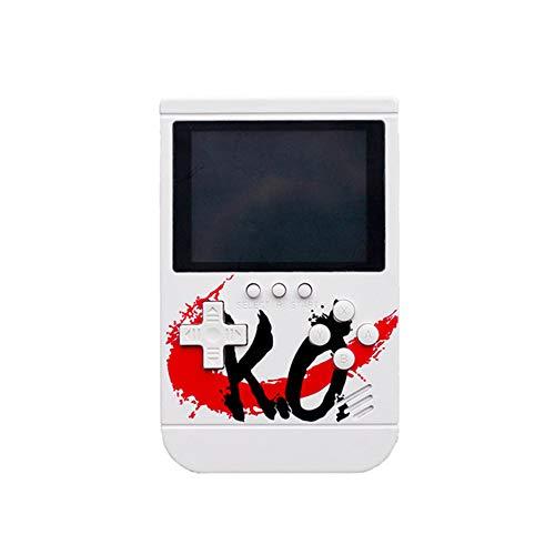 Power Bank USB-Ausgang Eingebaut in 10000mA Retro Gaming Machine Handheld-Spiel Mehrere Spiele können im Fernsehen für Kinder Erwachsene Geburtstagsgeschenke Spielen,White (Erwachsenen-handheld-spiele)