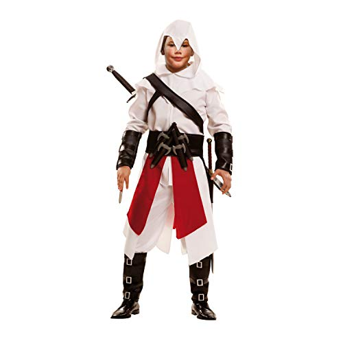 Größe Creed Assassins Kind Kostüm - My Other Me - Ninja-Kostüm, für Kinder, Weiß (Viving Costumes) 10-12 años weiß