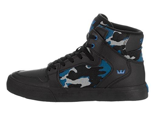 Supra - Sneaker, Unisex - bambino Black/Camo/Black