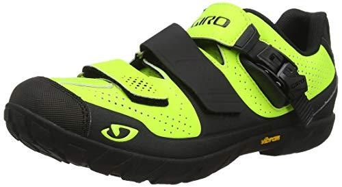 Giro Terraduro MTB, Scarpe da Ciclismo Uomo, Multicolore (Lime/Black 000), 43 EU