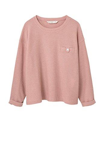 mango-kids-t-shirt-coton-t-shirt-texture-taille11-12-ans-couleurrose-pastel