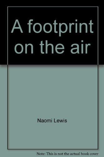 A Footprint on the air : a collection of nature verse