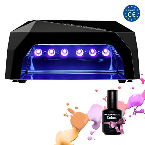 Lampara UV Led Secador Uñas Temporizador Gel Uñas