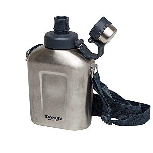 Stanley Edelstahl Feldflasche - silber Größe OneSize