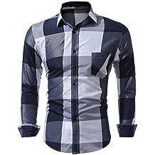 adc1a28b5d118 Magiyard Chemise T-Shirt à Manches Longues à Manches Longues à Manches  Longues ...