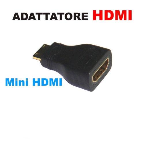 ILS ADATTATORE HDMI FEMMINA A MINI HDMI MASCHIO