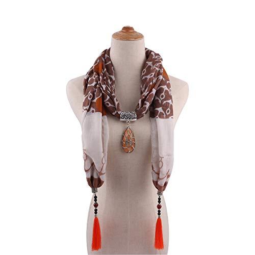 TDPYT Schal Im Nationalen Stil Halsketten Halsketten Schals Kostüme Accessoires 1840 6 5'9