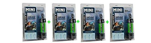 Sawyer Mini Wasserfilter Limited Edition Outdoor Camping Trekking Wasserfilter Wasseraufbereitung (4-er Set Grün)