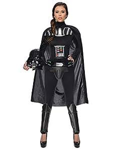 Star Wars Darth Vader Ladies Costume Licensed Product black grey XS