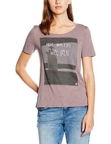 Marc O'Polo Damen T-Shirt Violett (light basalt 643)